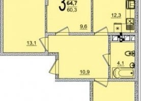 От хозяина - фото. Купить трехкомнатную квартиру от хозяина без посредников, Краснодар, улица Западный Обход, 45к2, Прикубанский округ - фото.