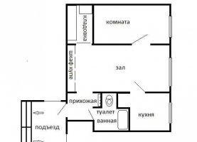 Продаю 2-ком. квартиру, 40 м2, Артёмовский, Заводской переулок, 1А