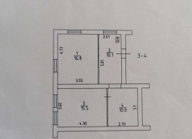 От хозяина - фото. Купить трехкомнатную квартиру от хозяина без посредников, Тула, улица Туполева, 2 - фото.